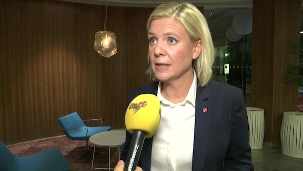"""Finansministern: """"Det finns utrymme för reformer"""""""
