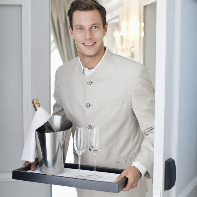 <span>Det är inte alldid man får vad man betalar för på room servicen...</span>