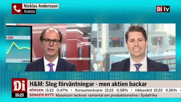 Andersson: Oro runt vd-ordet i H&M