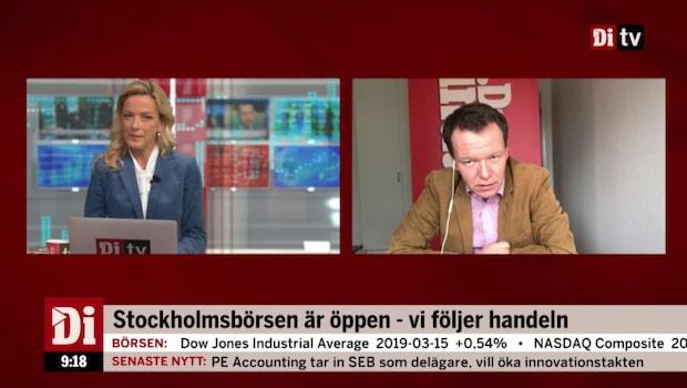 Di:s analytiker Petersson om börserna idag