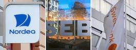 Storbankerna tvingas  betala miljoner i böter
