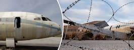 Spöklik flygplats i Europa har stått övergiven i 44 år