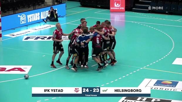 Highlights: IFK Ystad-Helsingborg