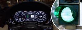 Audis nya teknik gör att förare alltid får grönt ljus