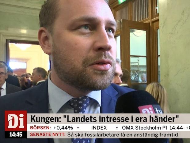 """Mattias Karlsson (SD): """"Lika troligt som att jag får åka till månen"""""""