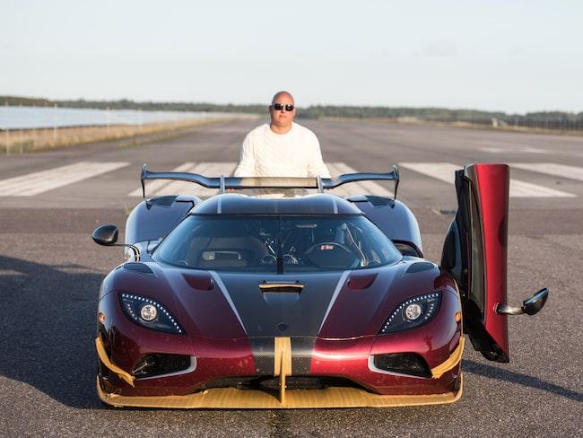 Världens snabbaste personbil