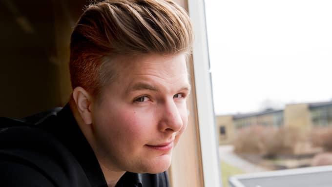 Robin Stjenberg hade skrivkramp i ett halvår innan det släppte. Snart släpper han sin nya EP. Foto: RICKARD NILSSON / KVP