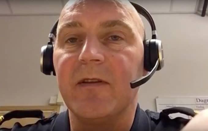"""Nu går polisen ut med övervakningsfilen och vädjar om tips: """"Vi tycker att det finns detaljer i deras klädsel och rörelsesätt som gör att någon som stått nära, en bit ifrån eller som inte känner dem alls ändå kan veta vilka de här är"""", säger förundersökningsledare Ulf Andersson. Foto: Brottscentralen"""