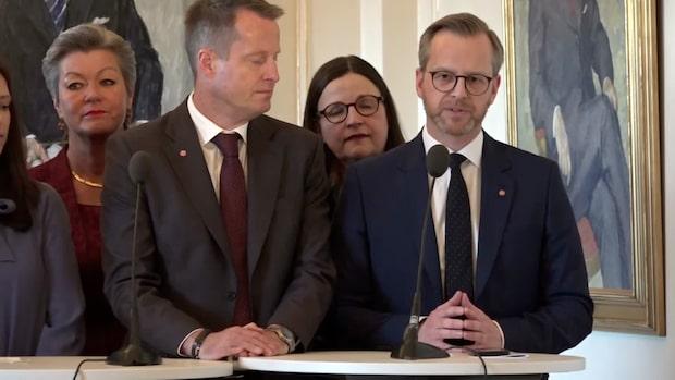 """Mikael Damberg (S): """"Tryggheten ska öka och brottsligheten ska bekämpas"""""""