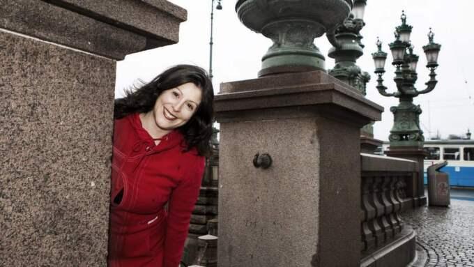Hittade hem igen. America Vera-Zavala, göteborgare född i Rumänien med rötter i Chile och Peru. Foto: Jan Wiriden