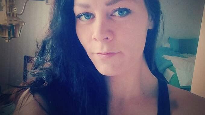 Emma Elfström var tidigare ihop med Björn Olsen, som nu har dömts för att ha huggit ihjäl Therese Palmqvist med en yxa. Han stod även åtalad för en yxattack mot Emma, men friades. Foto: PRIVAT