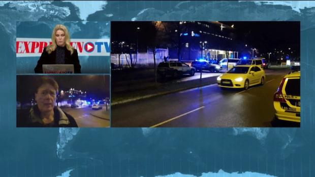 Två män anhållna efter sprängdåd mot polisstation