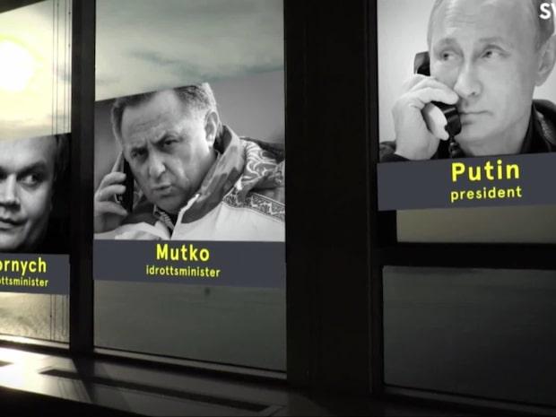 """Grigory Rodtjenkov: """"Putin visste allt"""""""