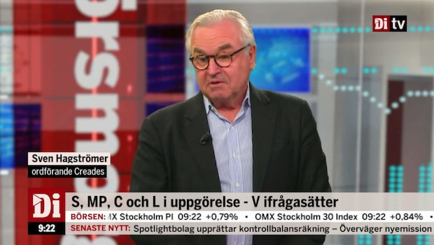 """Hagströmer: """"Löfven tror hela Vänsterpartiet är idioter"""""""