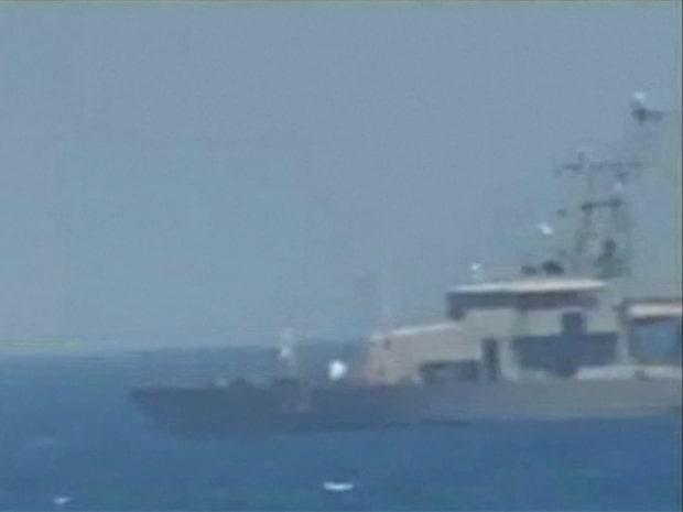 Amerikanska flottan sköt varningsskott mot iranskt fartyg