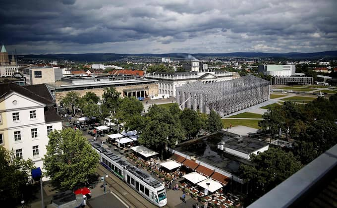 Kassel, staden som vart femte år stor värd för Documenta 14 uppvisa många likheter med ... Foto: RONNY HARTMANN / AFP