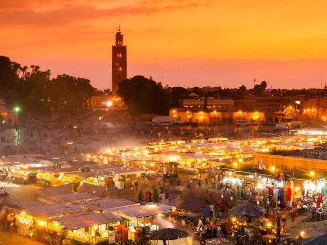 Marrakech i Marocko toppar listan över hetaste resmålen 2015 enligt Tripadvisor.