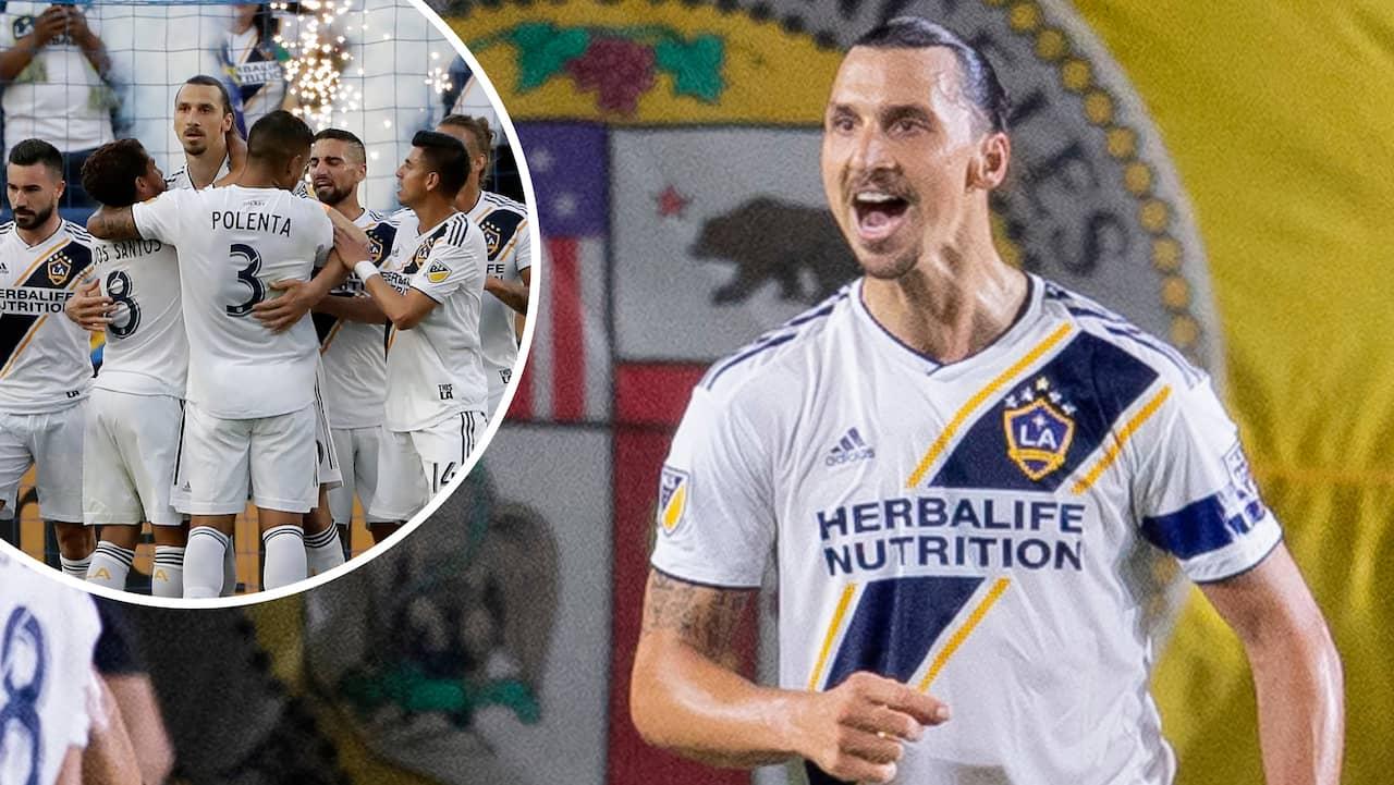 Zlatan hjälte på nytt - sänkte Dallas på egen hand