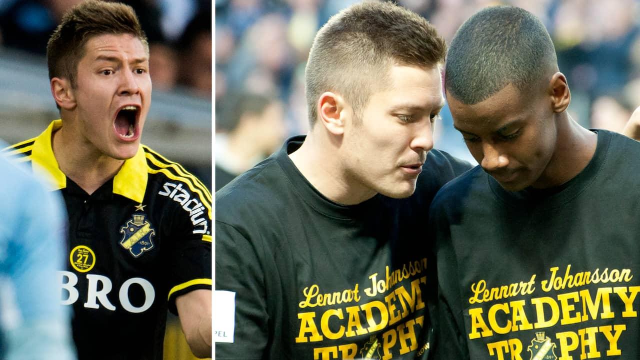 Han dumpas av AIK – får inte förlängt