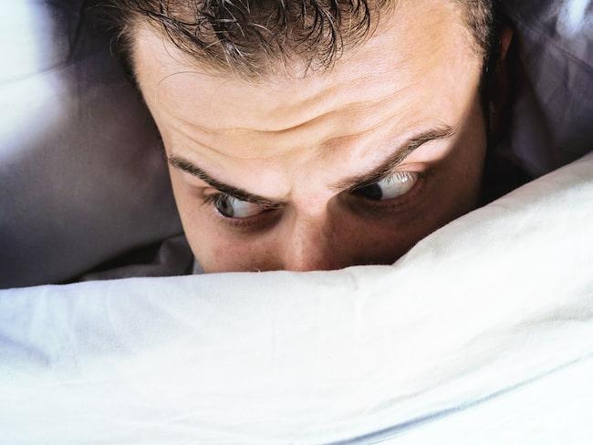Här listar vi på ett antal parasomnier, sömnstörningar, som inträffar när vi slumrar till.