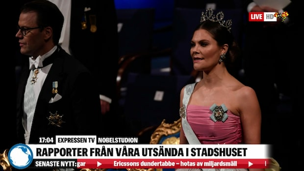 Kronprinsessan Victoria återanvände Silvias klänning