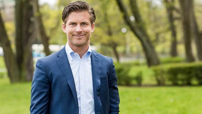 Hampus Magnusson (M), oppositionsråd i Göteborg. Foto: JESPER ORRBECK