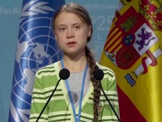 """Greta Thunberg: """"Ledare beter sig inte som att vi befinner oss i ett nödläge"""""""