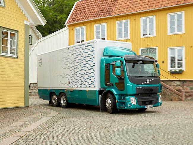 El-lastbilen kommer att användas mest i storstäder, som distributionsfordon, och säkert i vissa fall ersätta denna dieseldrivna FE 350.