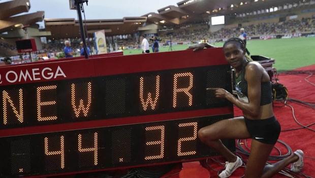 Makalöst världsrekord i Diamond League i Monaco
