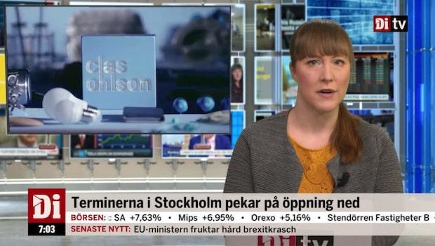 Morgonkoll: Ökad försäljning för Clas Ohlson