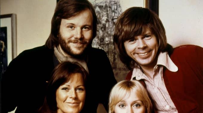 Abba var aktiva under åren 1972-1982, men enligt Björn Ulvaeus arbetade de hårt i studion, men turnerade inte så mycket som man kan tro. Foto: ANONYMOUS / AP