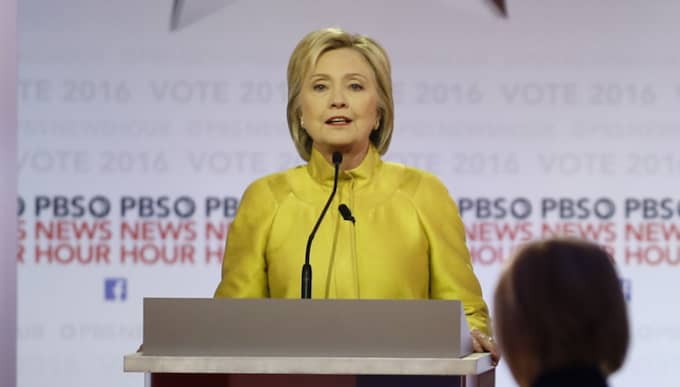 Hillary Clinton. Foto: Morry Gash