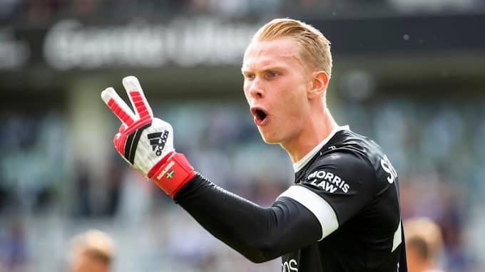 Pontus Dahlberg tänker spela Premier League-fotboll i höst. Foto: THOMAS JOHANSSON/TT / TT NYHETSBYRÅN