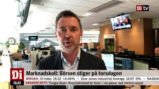 """Warg om läget på börsen: """"Oerhört stillastående"""""""