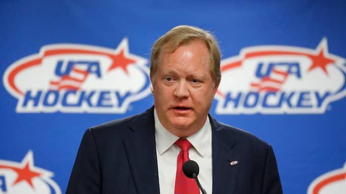 Jim Johannson, fd general manager i USA Hockey Foto: PAUL SANCYA / AP TT NYHETSBYRÅN