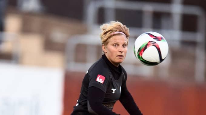 Lisa Ek spelade bland annat i Kopparbergs Göteborg under sin fotbollskarriär. Foto: ROBIN ARON / ROBIN ARON GT-EXPRESSEN