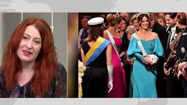 Emelie Janrell, designade Sofias Nobelklänning