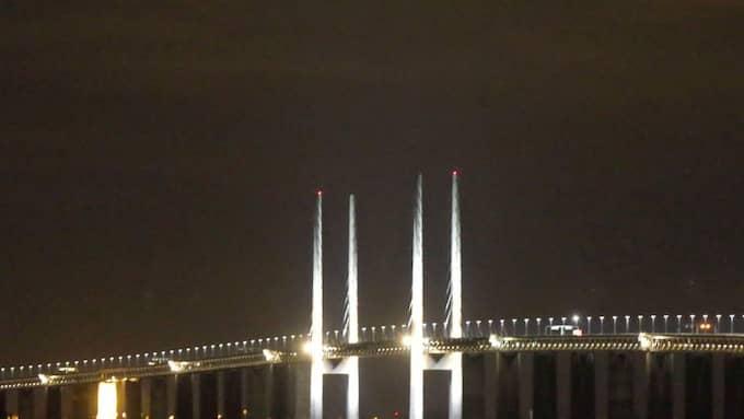 Kontroller ska införas på bland annat Öresundsbron. Foto: Ronny Johannesson