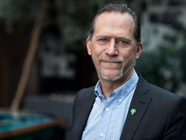 Stockholms trafikborgarråd Daniel Helldén (MP).