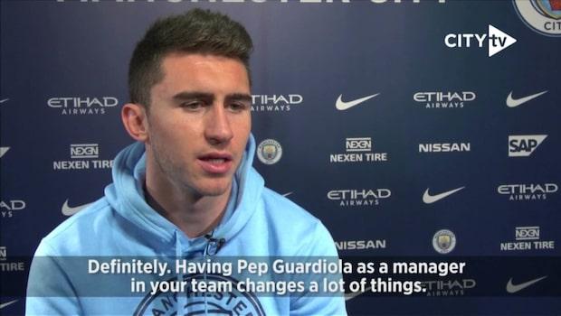 "Laporte: ""Guardiola var en stor anledning"""