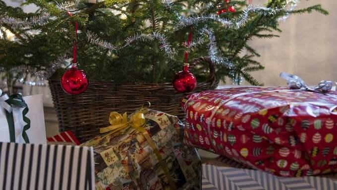 Årets julklapp presenteras av Handels utredningsinstitut. Foto: NILS JAKOBSSON / BILDBYRÅN
