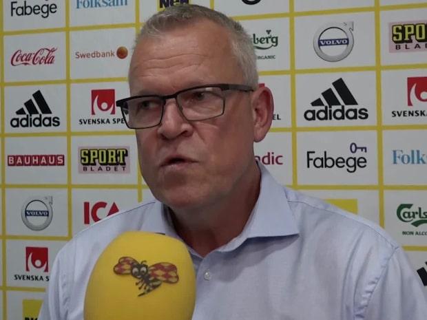 """Janne om Tankovic: """"Utvecklingen han har haft är jättebra"""""""
