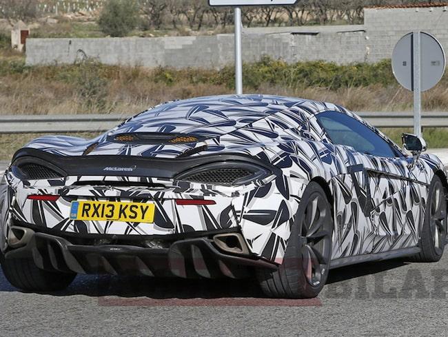 Kenny Bräck är med och utvecklar nya McLaren 570 S GT.