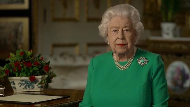 Här kan du se drottning Elizabeths tal till brittiska folket