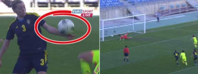 Foto: Bilder från Eurosports sändning