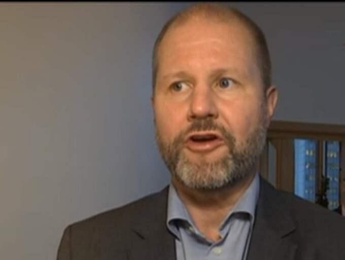 Jörgen Lantto, vd för Fingerprint cards.