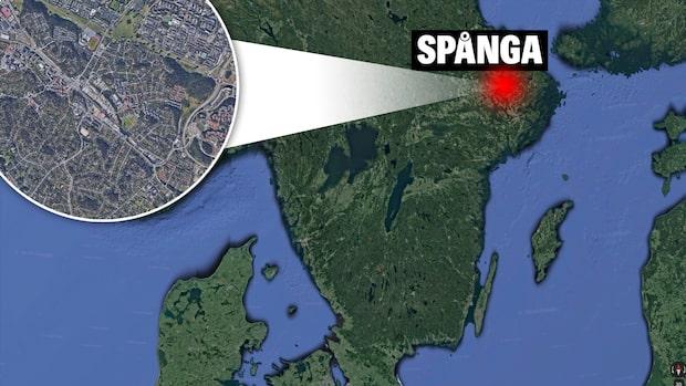 Rånare slog till mot Pressbyrån i Spånga