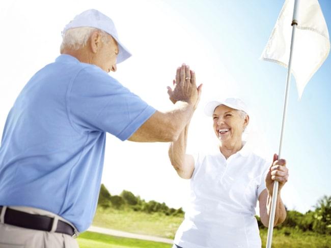 Hälsofördelarna med golf är många.