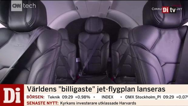 Världens billigaste jetplan är här
