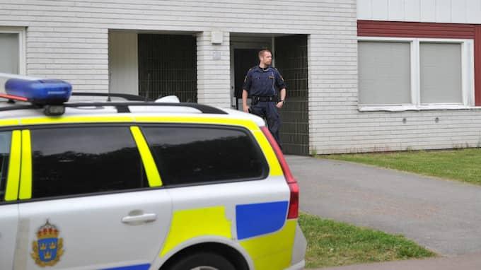 En kvinna hittades död. Foto: David Hårseth